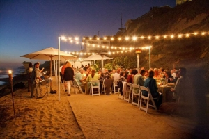 corvel 2012 at crystal cove string lights